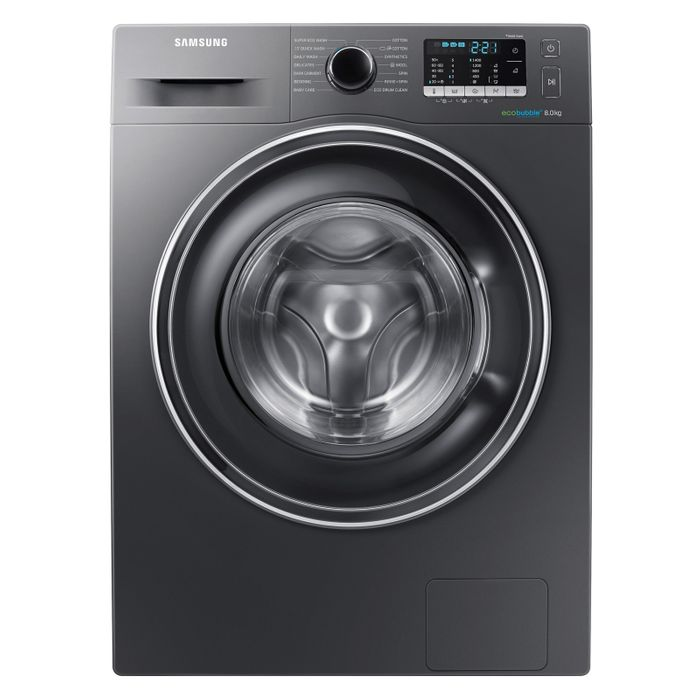 Samsung ECO BUBBLE Washing Machine in Graphite 1400rpm 8kg A+++ Only £349