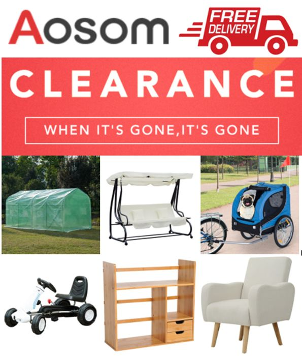 Special Offer - AOSOM CLEARANCE SALE - Home & Garden Furniture