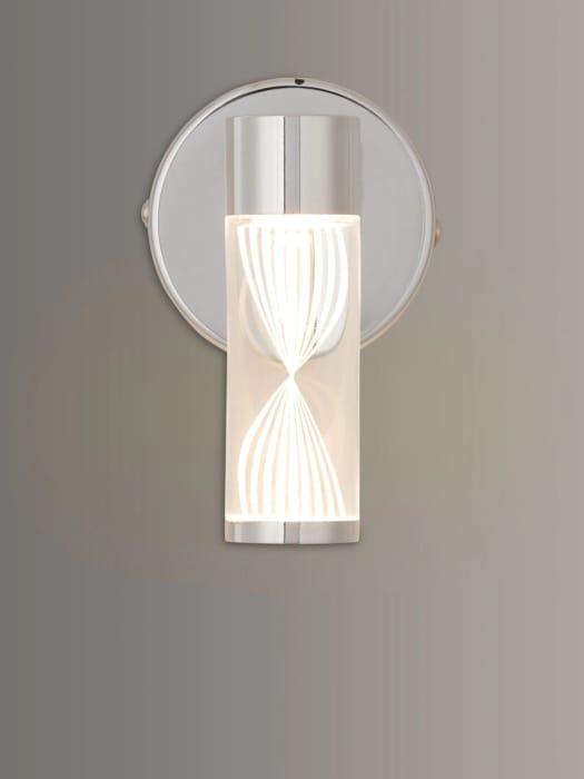 LED Bathroom Wall Light, Chrome