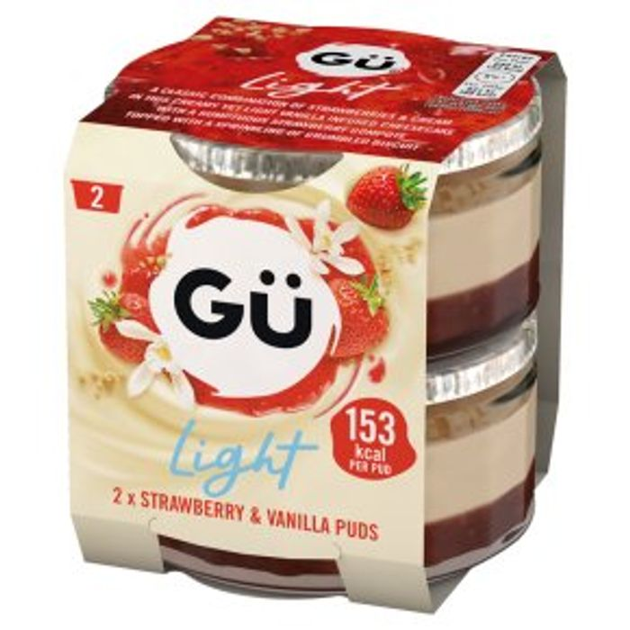 Gu Light 2x77g - (Various Flavours)