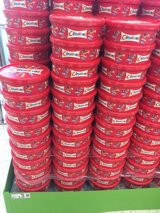 Celebrations Chocolate Tub Asda in Store Only