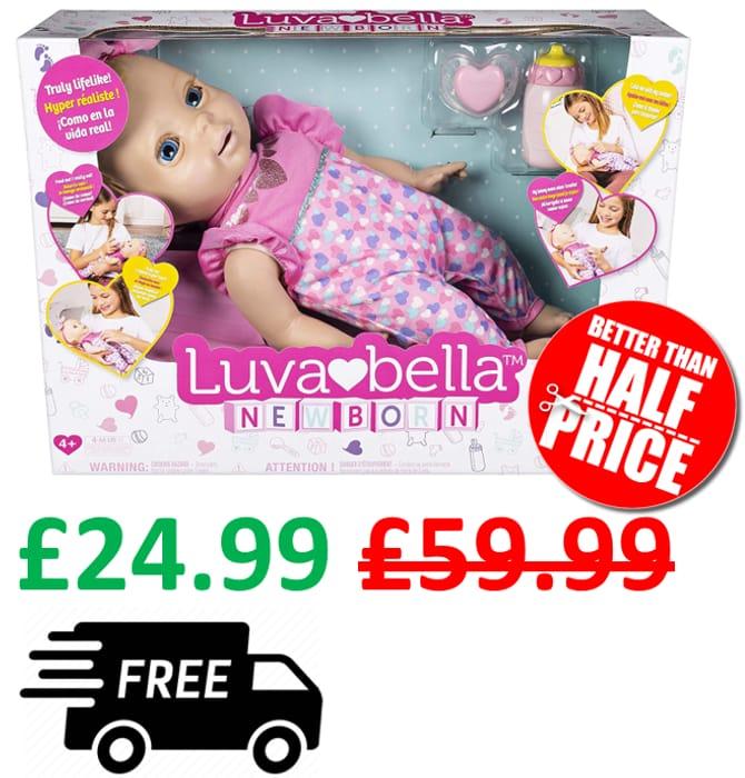 Luvabella Newborn - Interactive Luvabella Baby Doll