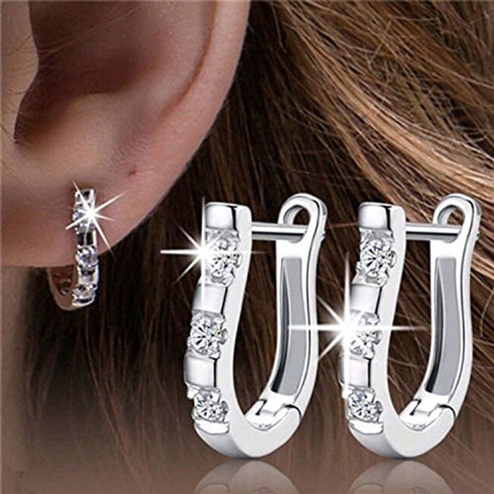 Sterling Silver Hooped Earings Free Delivery