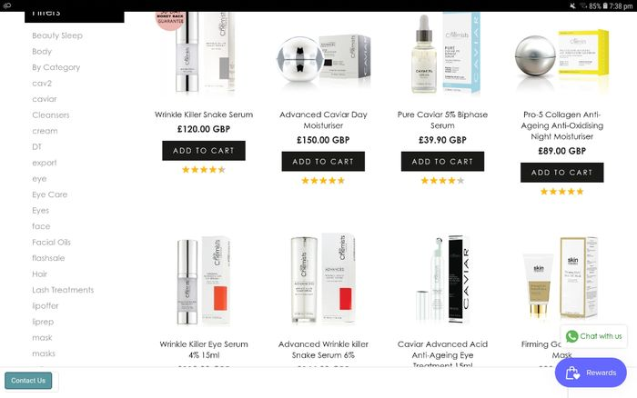 Get 80% off SkinChemists Products!