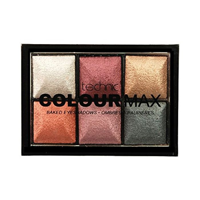 Colour Max Number 6 Eyeshadow Palette,