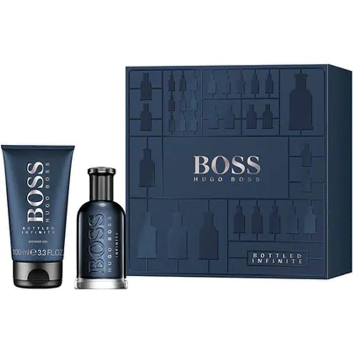BOSS Bottled Infinite Eau De Parfum Gift Set for Him