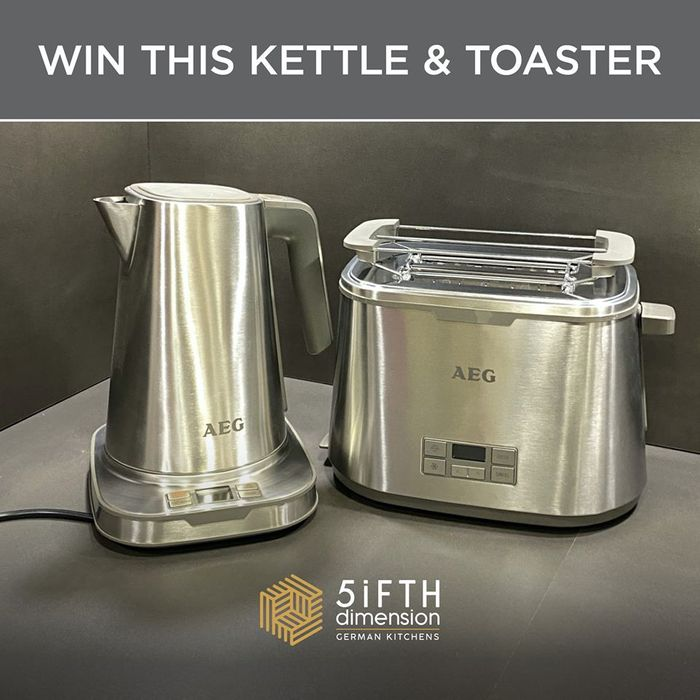 Win an AEG Kettle and Toaster!