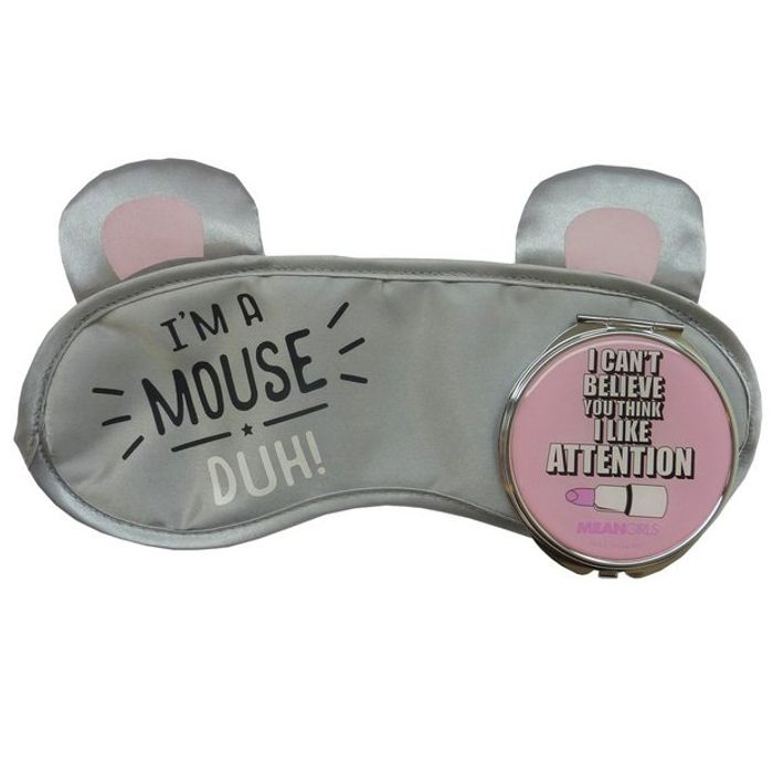 Mean Girls Eye Mask & Compact Mirror Set HALF PRICE