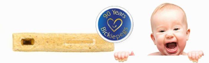 Free Sample of Bickiepegs Natural Teething Biscuits