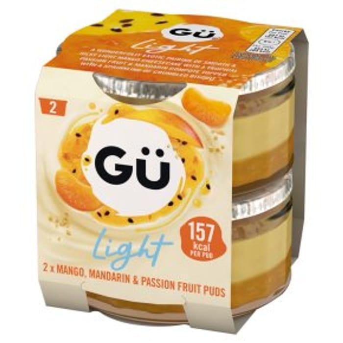 G Light Mandarin & Passionfruit2x77g