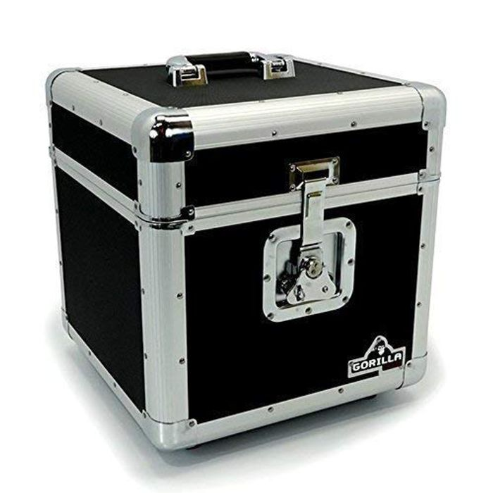 "Gorilla LP100 Holds 100pcs 12"" Vinyl LP 12"" Record Box Storage Case Only £31.99"