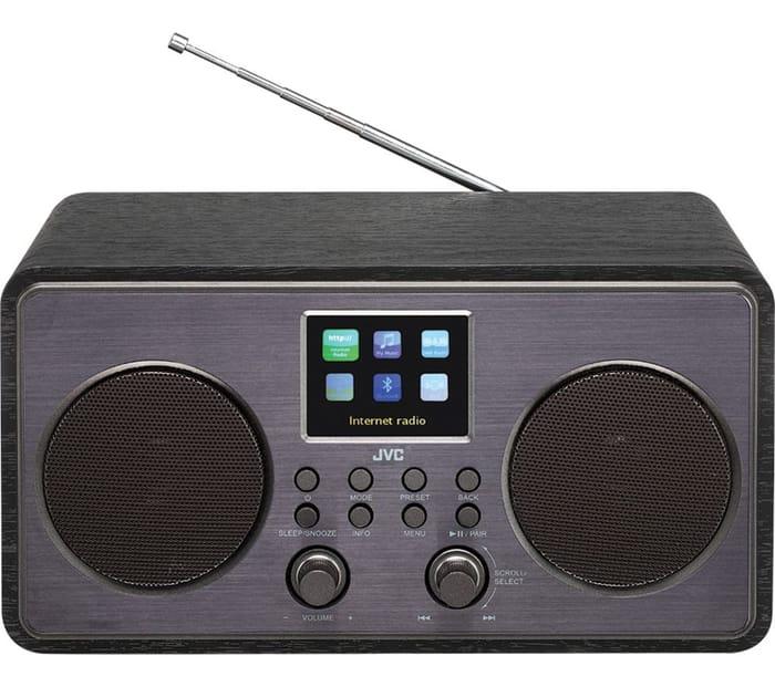 Cheap JVC Smart Bluetooth Radio - Black Only £54.97!