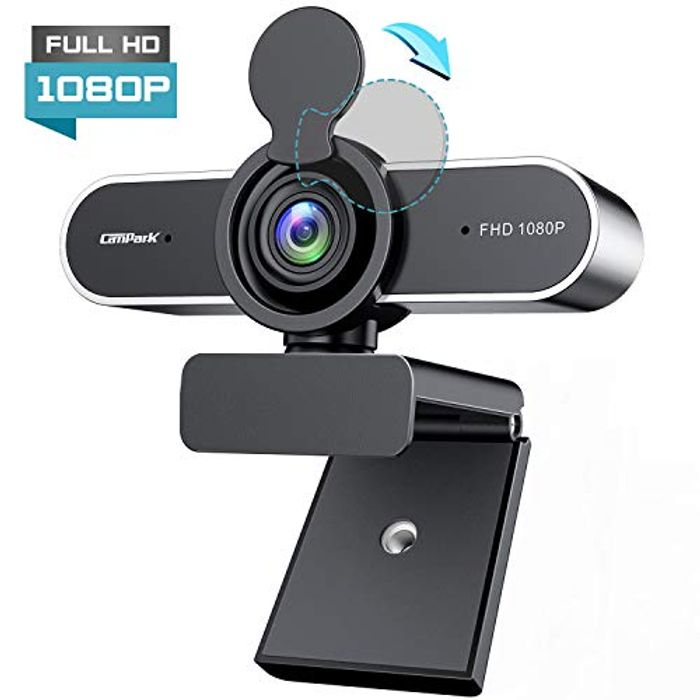 Campark Full HD 1080P Webcam with Microphone