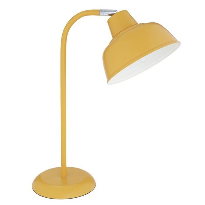 Argos Home Benson Table Lamp Mustard