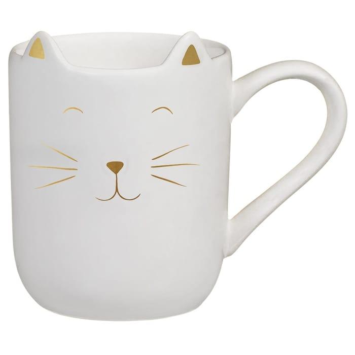 Cat Shaped Mug