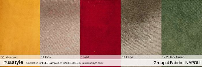 4 Free Fabric Swatch Samples.