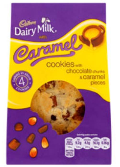 Cadbury Dairy Milk 4 Caramel Cookies