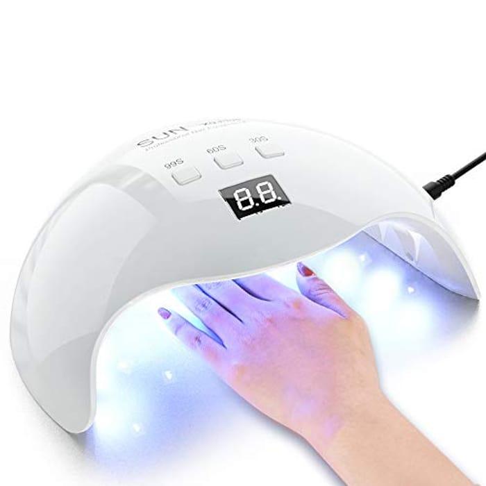 48w UV LED Gel Nail Lamp