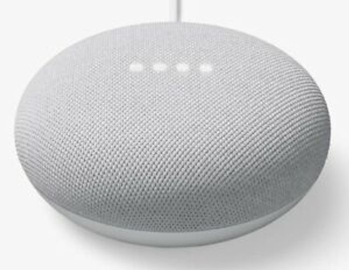 HURRY! Google Nest Mini (2nd Generation) Smart Speaker - Chalk