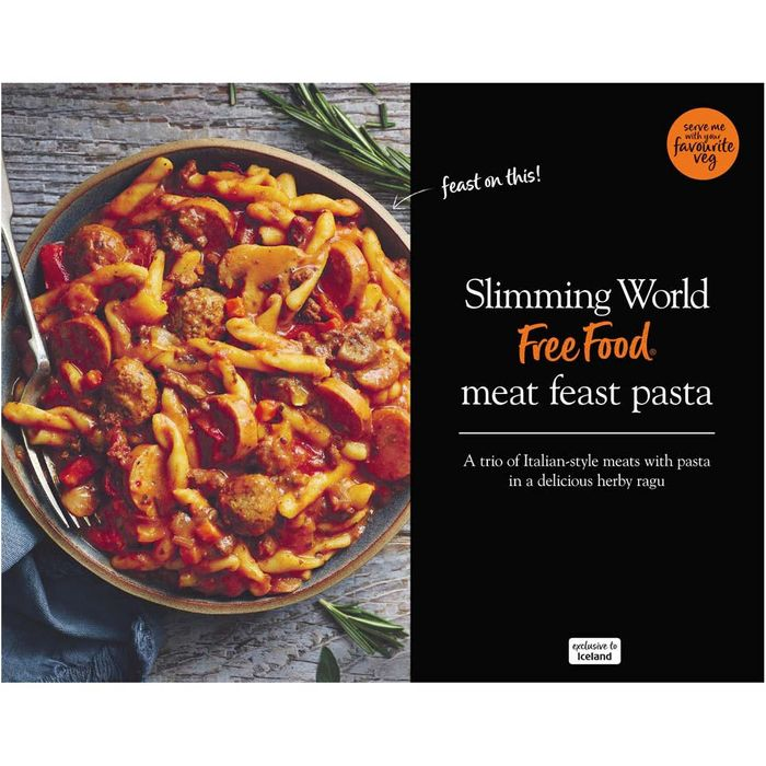 Slimming World Meat Feast Pasta 550g