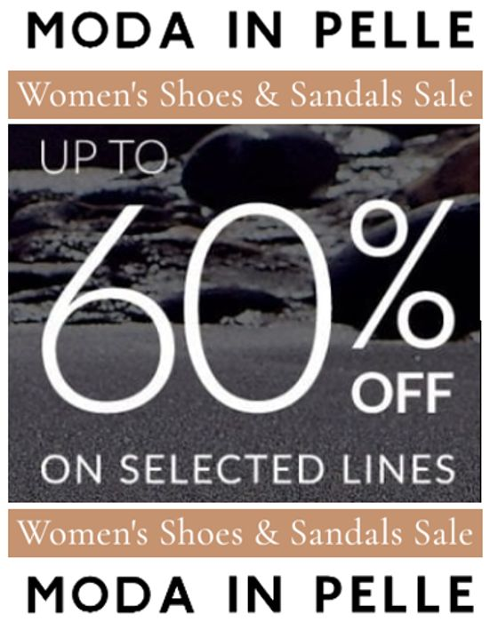 Women's Shoes & Sandals SALE - MODA IN PELLE