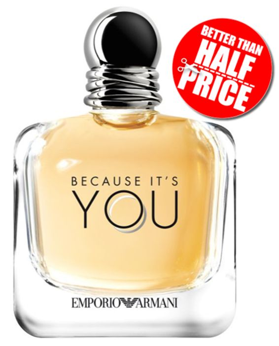 Boots Summer Clearance - Emporio Armani Because It's You EDP 150ml
