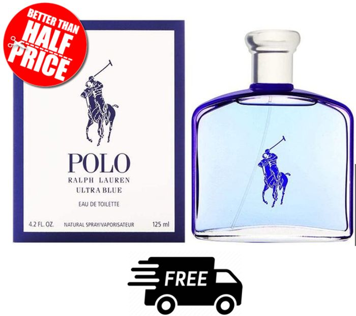 Boots Summer Clearance - Ralph Lauren Polo Blue Ultra Blue Mens EDT 125ml