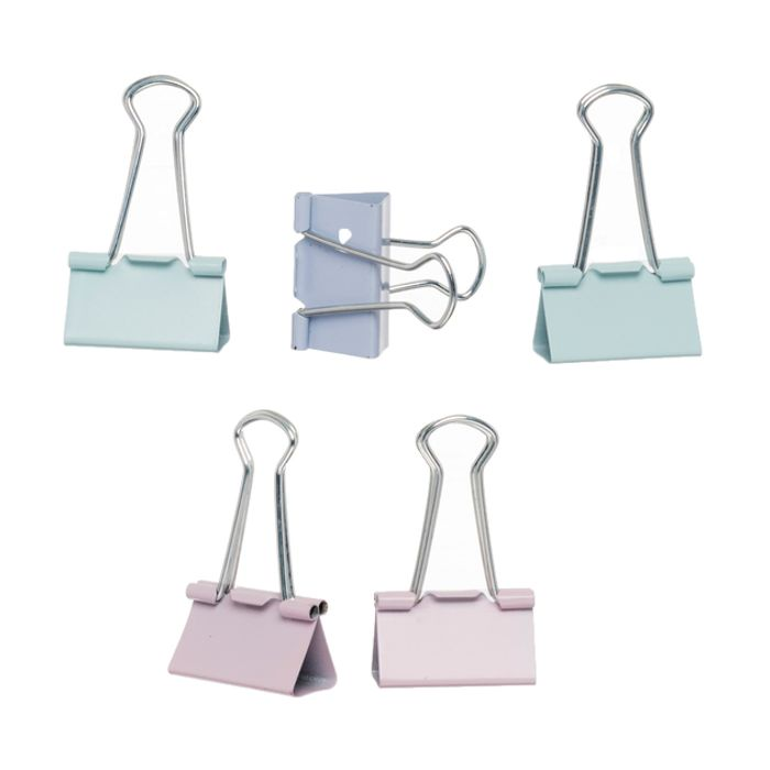Home & Office Pastel Fold Back Clips (Pack of 5)