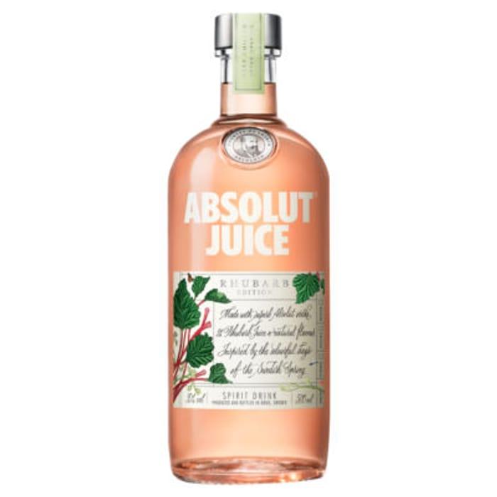 Absolut Vodka Juice Edition: Rhubarb 50cl