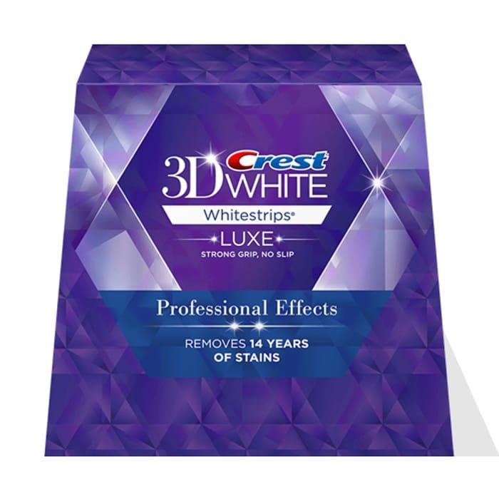 Get 40% off Crest Whitening Strips