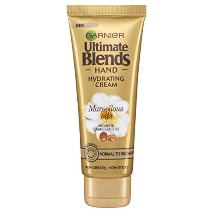 Garnier Ultimate Blends Body Hand Marvellous Oils Hydrating Cream 75ml