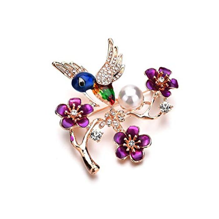 Bird Brooch Free Delivery
