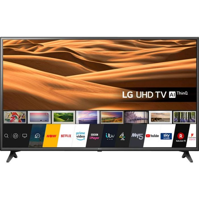"""*SAVE £20* LG 55"""" Smart 4K Ultra HD TV with HDR and Freeview Play"""