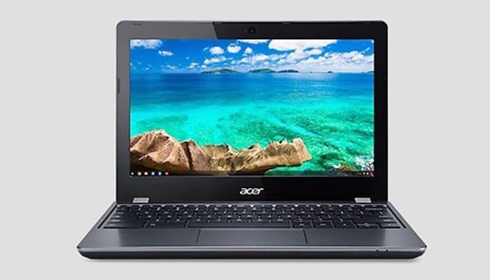 Acer 11.6-Inch Chromebook Laptop - 16GB SSD & 2GB RAM