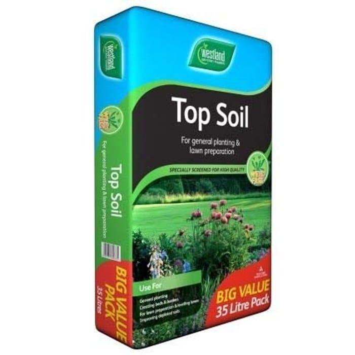 Westland Top Soil, Big Value Bag, 35 Litres