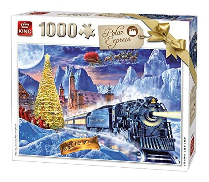 KING 55872 Polar Express Jigsaw Puzzle 1000-Piece, Full Colour