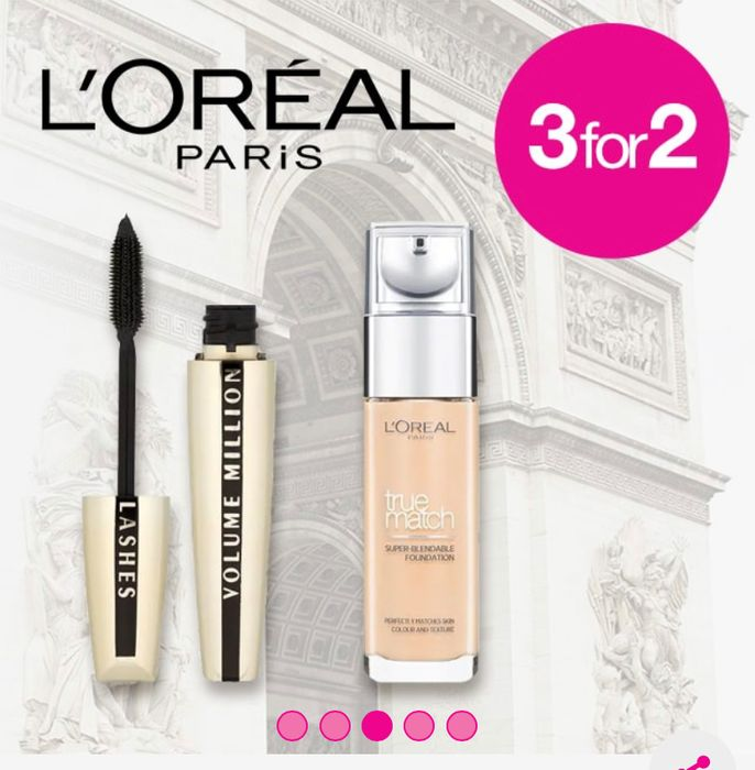 3 for 2 on Selected LOral
