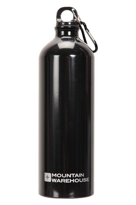 1L Metallic Bottle with Karabiner