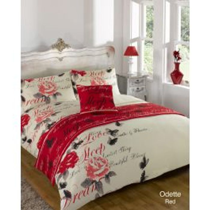 4 Piece Bed in a Bag Duvet Set - Single Size