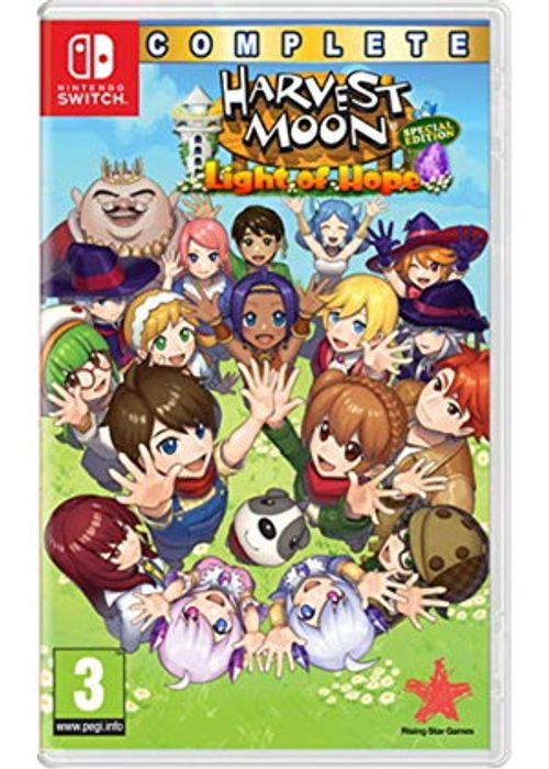 Nintendo Switch Harvest Moon: Light of Hope Complete S.E. £15.99 at Base