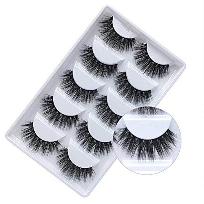 Falsh Eyelashes 3D Faux Mink