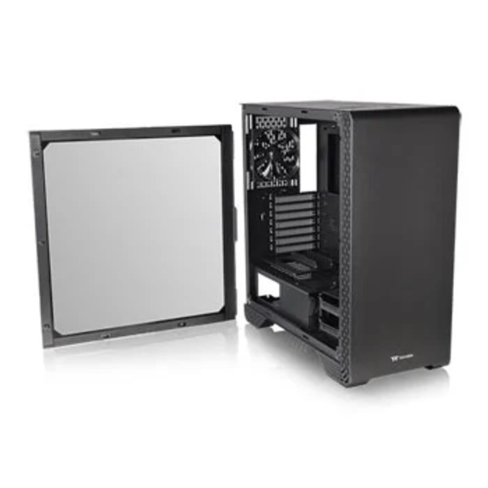 ThermalTake S300, Black, mid Tower W/ Tempered Glass Window, 13%off at Scan