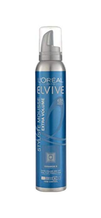 L'Oreal Elvive Styliste Extra Volume Fine Hair Mousse 150ml