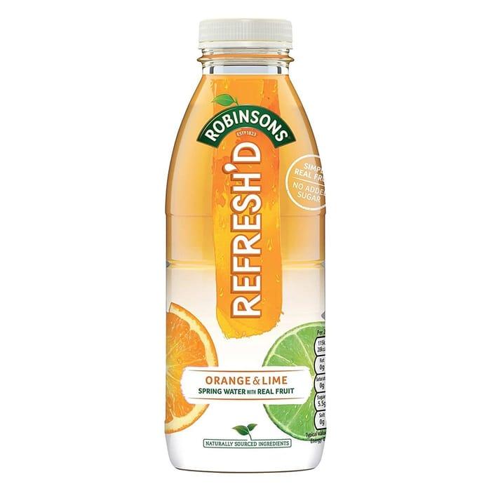 Robinsons Refresh'd Orange & Lime 500ml