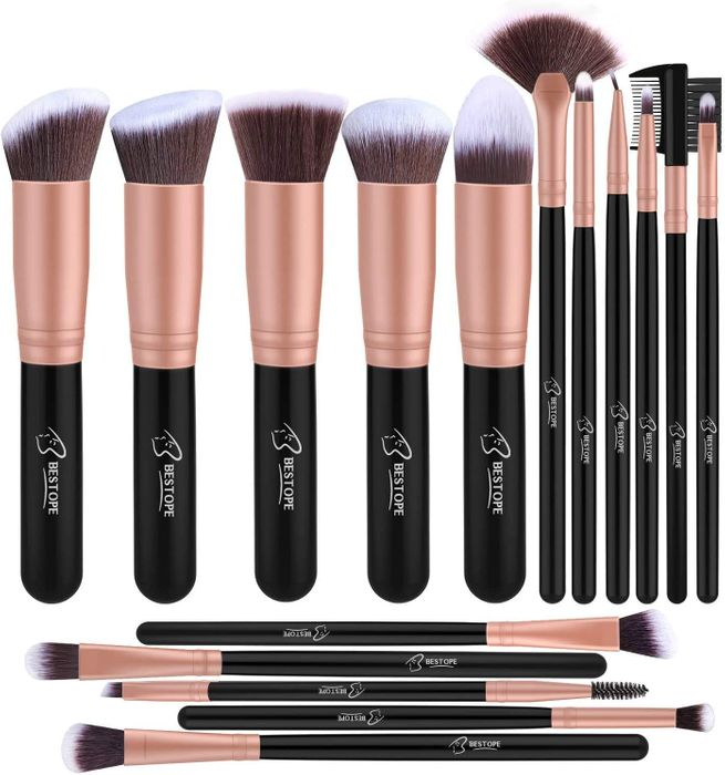 Cheap SAVE £7 - Professional 16-Piece Makeup Brush Set Only £8.99!