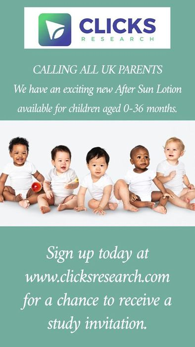 Free after Sun Lotion for Babies & Toddlers Aged 0-36 Months