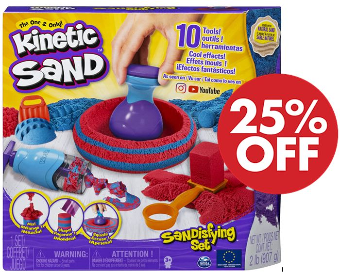 Kinetic Sand Sandisfying Set *4.8 STARS* (+ FREE PRIME DELIVERY)