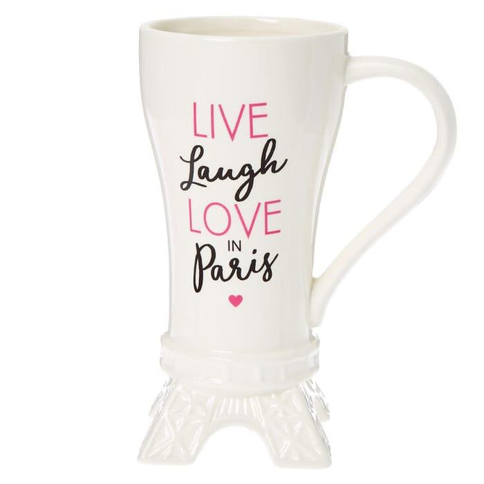 Love Paris Eiffel Tower Ceramic Mug
