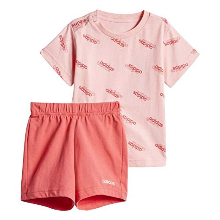 Adidas Children's I Fav Ss Set Tracksuit