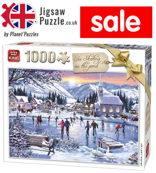 Jigsaw Puzzle SALE - 1,000 Piece Jigsaws from £6.72